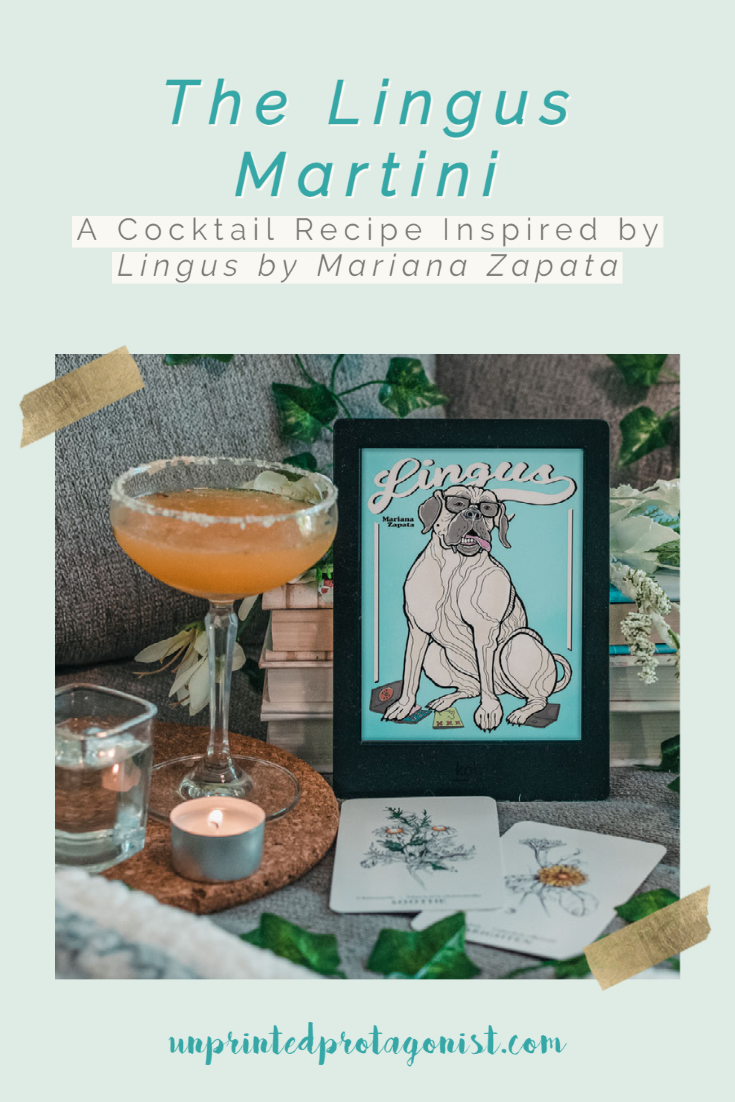 A Porn Star Martini Inspired by Lingus by Mariana Zapata