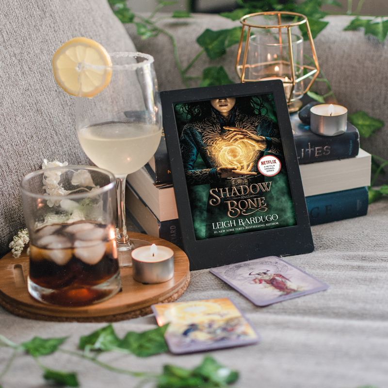 Two cocktail recipes inspired by Shadow & Bone by Leigh Bardugo
